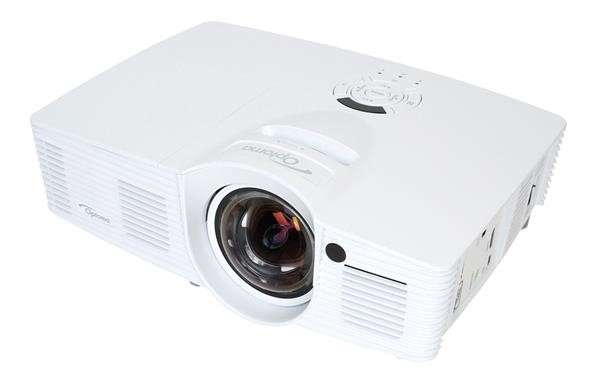 Optoma herní short throw projektor GT1070Xe (FULL HD 1080p, 2 800 ANSI, 23 000:1, 2x HDMI, MHL, 10W speaker)