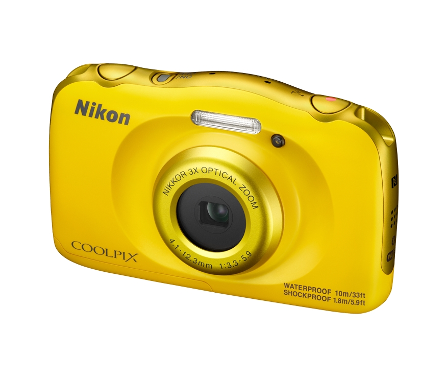 NIKON COOLPIX W100 Yellow - Backpack kit