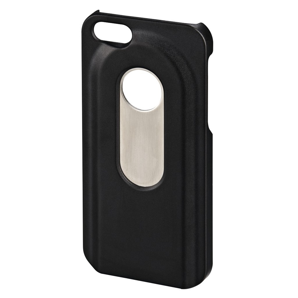 Hama Bottle Opener Cover for Apple iPhone 5/5s/SE, black