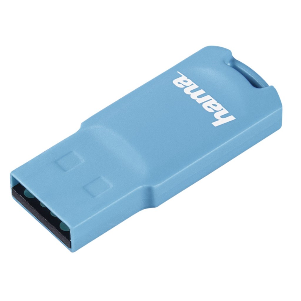 Hama FlashPen Pastell USB 2.0, 32 GB, 15 MB/s, světle modrá
