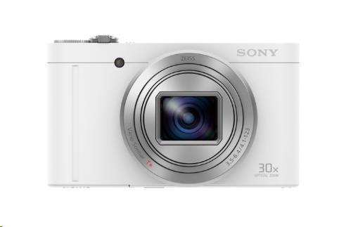 SONY DSC-WX500 Cyber-Shot 18,2 MPix, 30x zoom - bílý