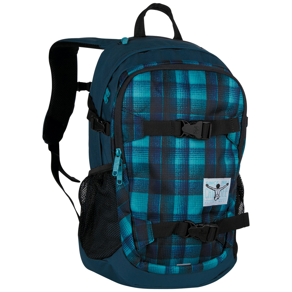 Chiemsee School backpack W16 Checky chan blue