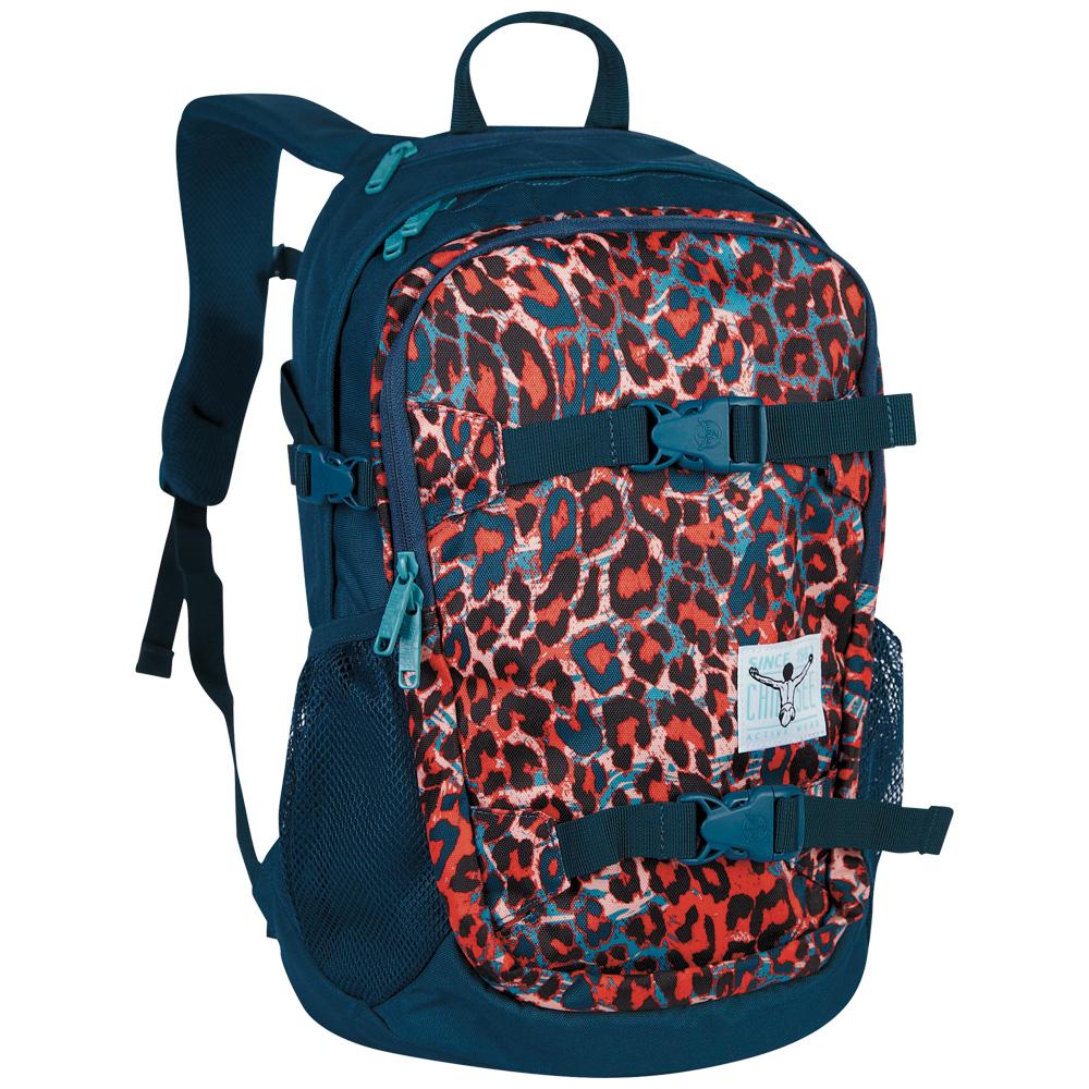Chiemsee School backpack W16 Mega flow blue