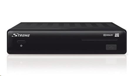 STRONG ST7504 HDTV 1080i pro příjem digitálních nekódovaných programu ze satelitu,Irdeto,FST,USB,EPG, Dolby Digital Plus