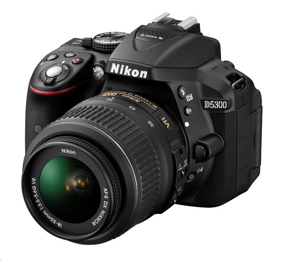 NIKON D5300 + AF-P 18-55 VR + 55-200 VR II
