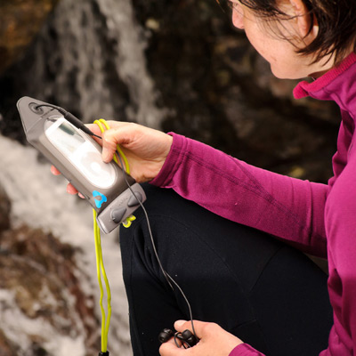 AQUAPAC MP3 Case/iPod a přehrávače sluchátkový vývod a popruh DOPRODEJ (více informací)