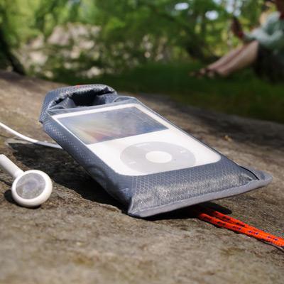 AQUAPAC iPod MP3 Stormproof Case Orange - se sluch. výstupem DOPRODEJ (více informací)