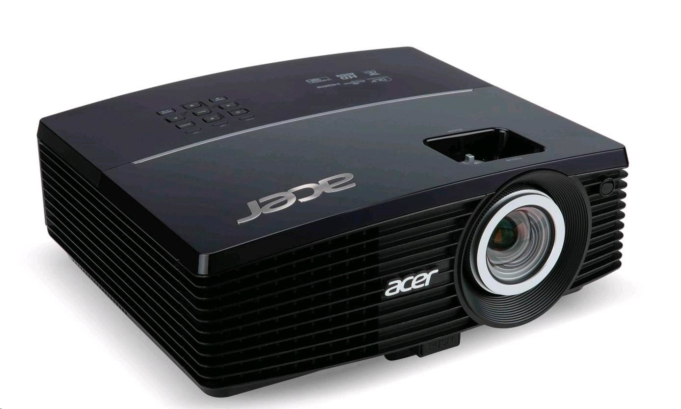 Pošk. obal - ACER Projektor P5327W,DLP 3D,WXGA,4000Lm,17000/1, HDMI, RJ45, Bag, 2.4kg,EURO