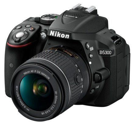 NIKON D5300 Black + 18-55 VR AF-P + 55-200 VR II