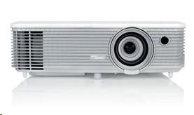 Optoma projektor W344 (FULL 3D, DLP, WXGA, 3 100, 22000:1,HDMI, VGA, USB Power, 2W speaker)