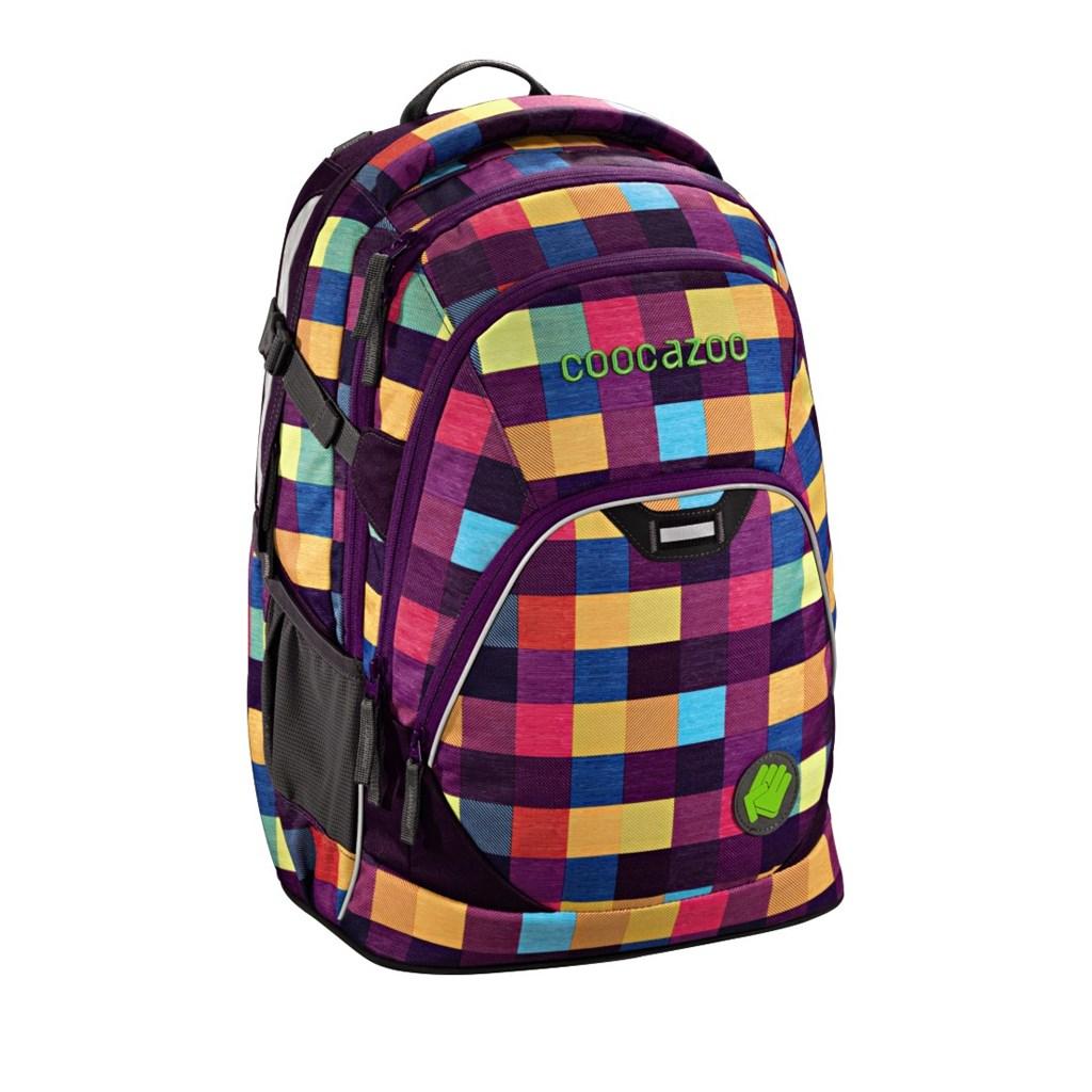 Školní batoh Coocazoo EvverClevver2, Melange A Trois Pink