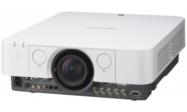 SONY projektor VPL-FW60, 5200lm, WXGA, RGB, DVI, HDMI, HDBaseT, LAN, RS232, Video, 1.39-2.23.1, optional lenses, 3 years