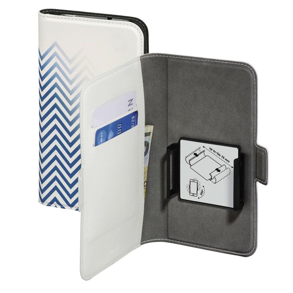 "Hama Smart Move-Blurred Lines, pouzdro na mobil, L (4""-4,5""), modré"