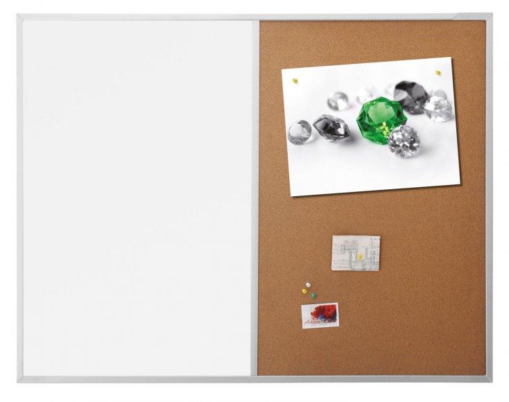 Kombinovaná tabule Magnetoplan SP optimal korek/magnet 120x90 cm