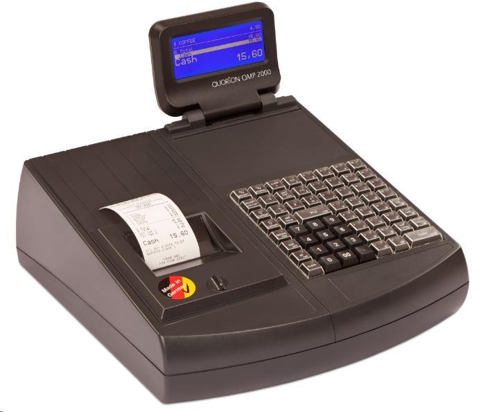 Quorion registrační pokladna QMP 2044 2xRS/USB lock + zásuvka