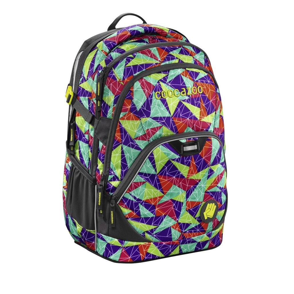 Školní batoh Coocazoo EvverClevver2, Spiky Pyramids Purple