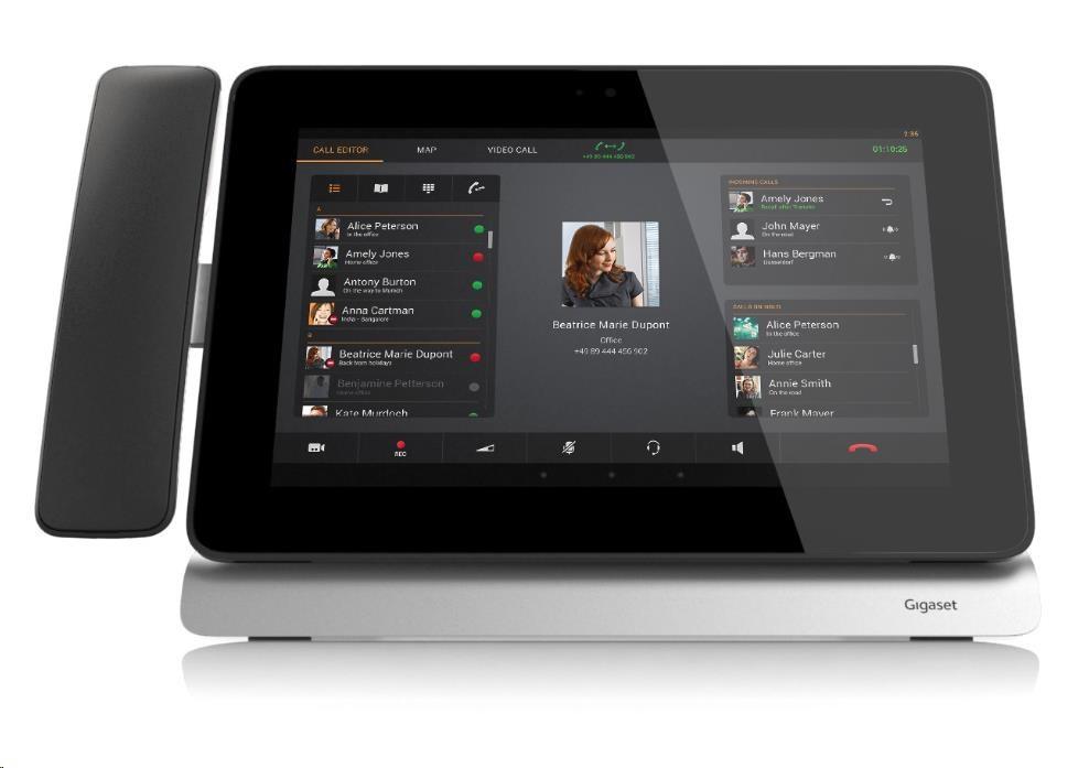 """Gigaset Pro Maxwell 10"""" Touch SIP Android stolní telefon (hlavní jednotka)"""
