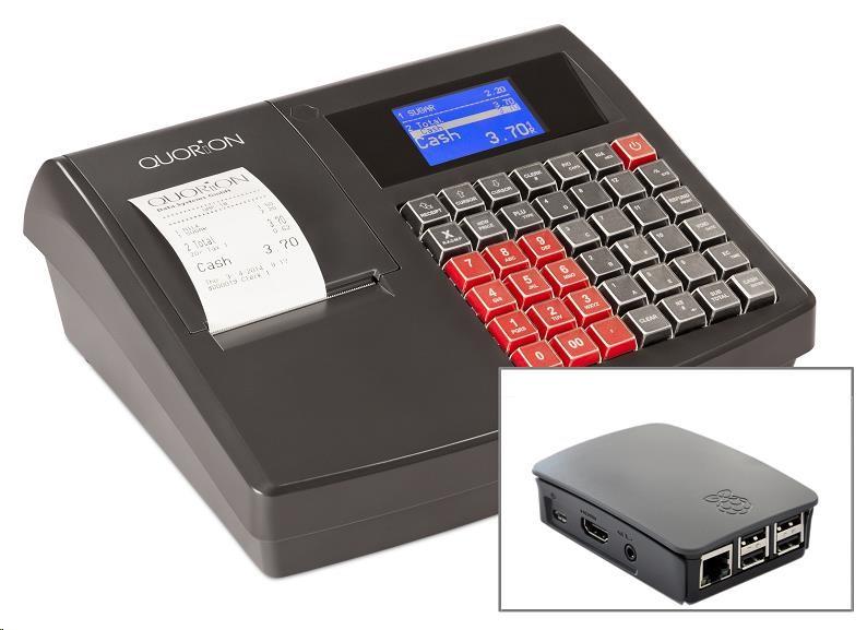 Quorion registrační pokladna QMP 18 2xRS/USB + modul pro EET