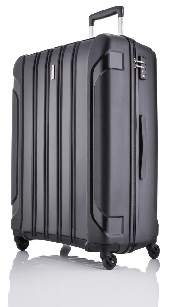Travelite Colosso M,L – sada 2 kufrů Black