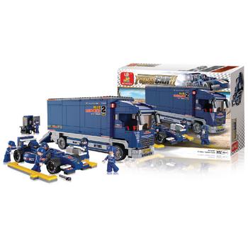Sluban F1 Kamion, 641 dílků - M38-B0357