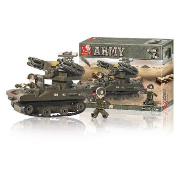 Sluban Tank Tor-M1, 207 dílků - M38-B0283