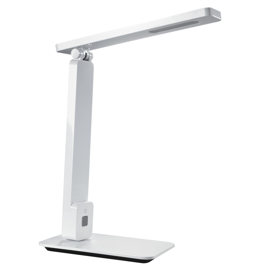 Hama SL40 LED Desk Lamp, daylight/step dimmer, white/black