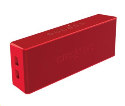 Creative repro Muvo 2 mobilní vodovzdorný bezdrátový reproduktor - červený