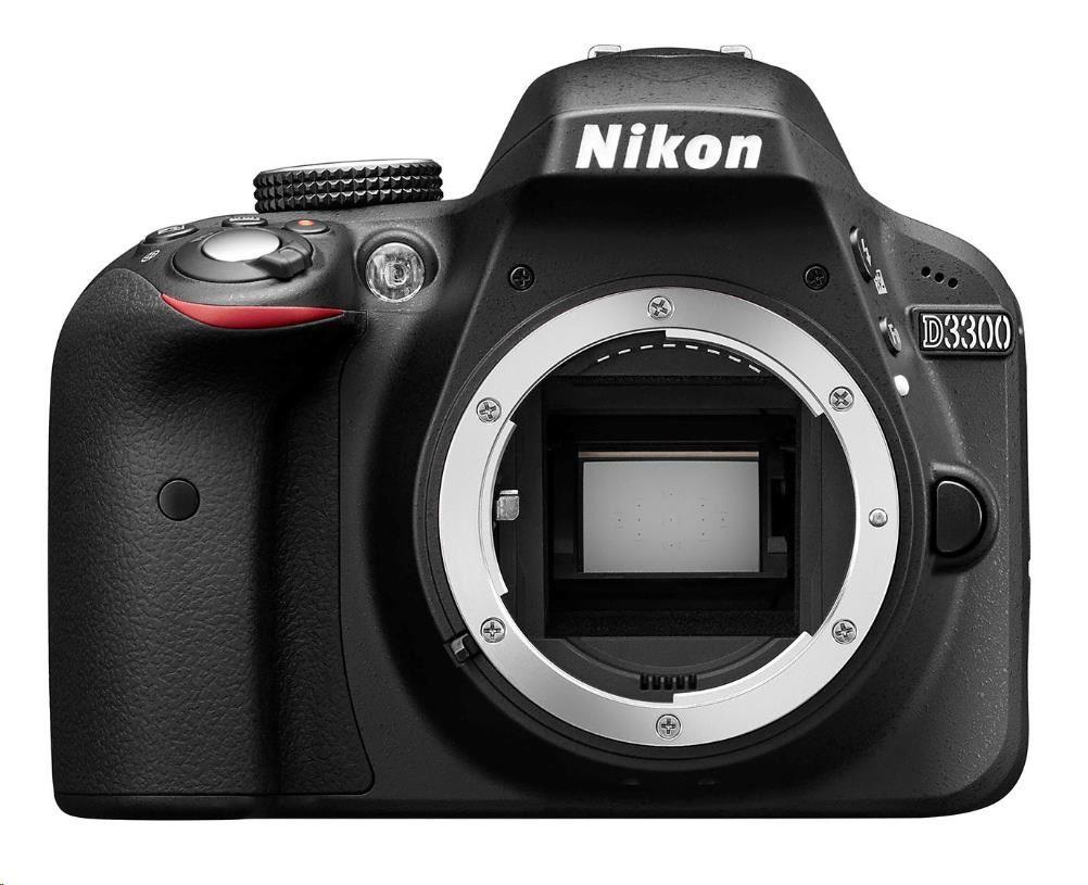 NIKON zrcadlovka D3300 + AF-P 18-55 VR + 55-200 VR II