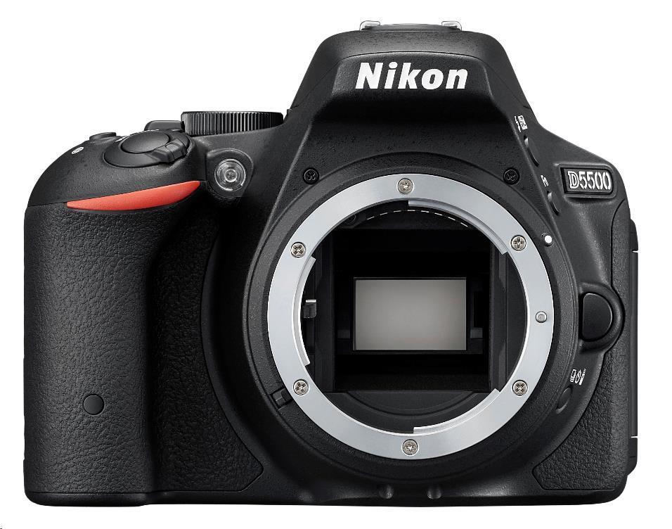 NIKON zrcadlovka D5500 + AF-P 18-55 VR + 55-200 VR II