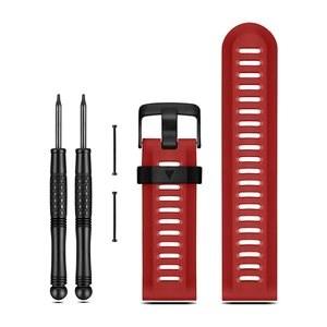 Garmin řemínek červený pro fenix3 (fenix2, fenix, tactix, quatix, D2)
