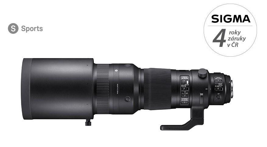 SIGMA 500/4 DG OS HSM SPORT Nikon