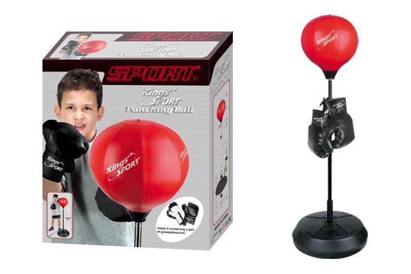 Boxovací balón G21 s příslušenstvím 121/146cm