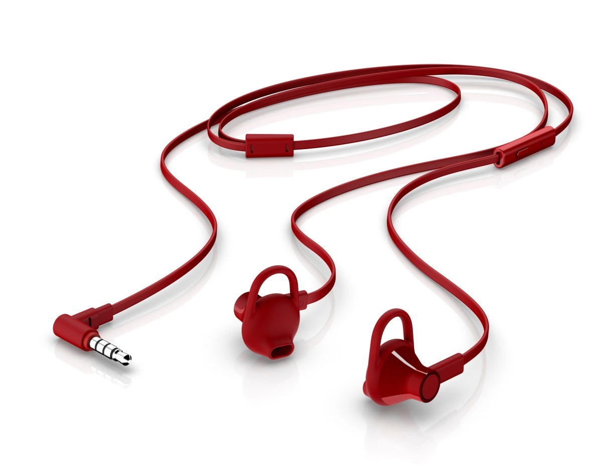 HP In-Ear Headset 150 - Cardinal Red - REPRO