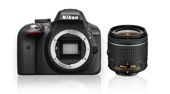 Digitální zrcadlovka Nikon D3300 Black + 18-55 AF-P Non-VR Kit