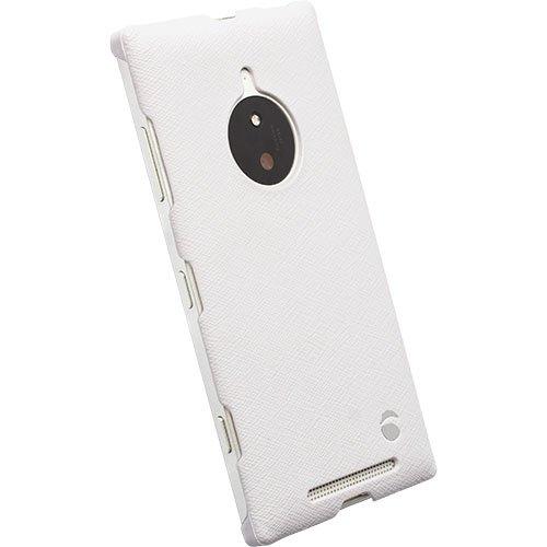 #Krusell zadní kryt MALMÖ TEXTURECOVER pro Nokia Lumia 830, bílá - použité