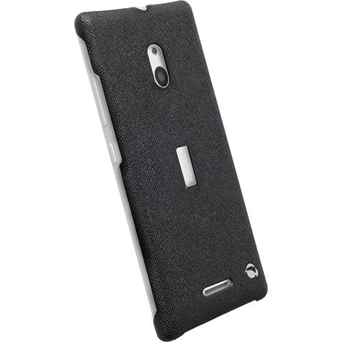 #Krusell zadní kryt MALMÖ TEXTURECOVER pro Nokia Lumia 830, černá - použité