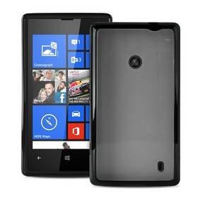 #Puro kryt Clear pro Nokia Lumia 520, černá - použité