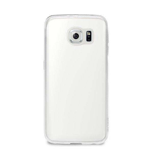 "#Puro zadní kryt pro Samsung Galaxy S6 edge ULTRA-SLIM ""0.3"" s fólií na displej, transparentní - použité"