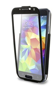 #Puro flipové pouzdro Total View Flipper pro Samsung Galaxy S5, černá - použité