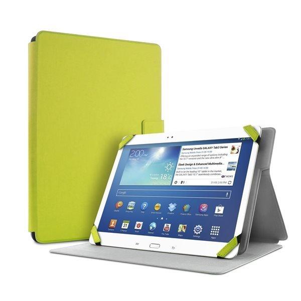 """#Puro stojánkové pouzdro s magnetem pro tablet 8,9"""", zelená - poškozený obal"""