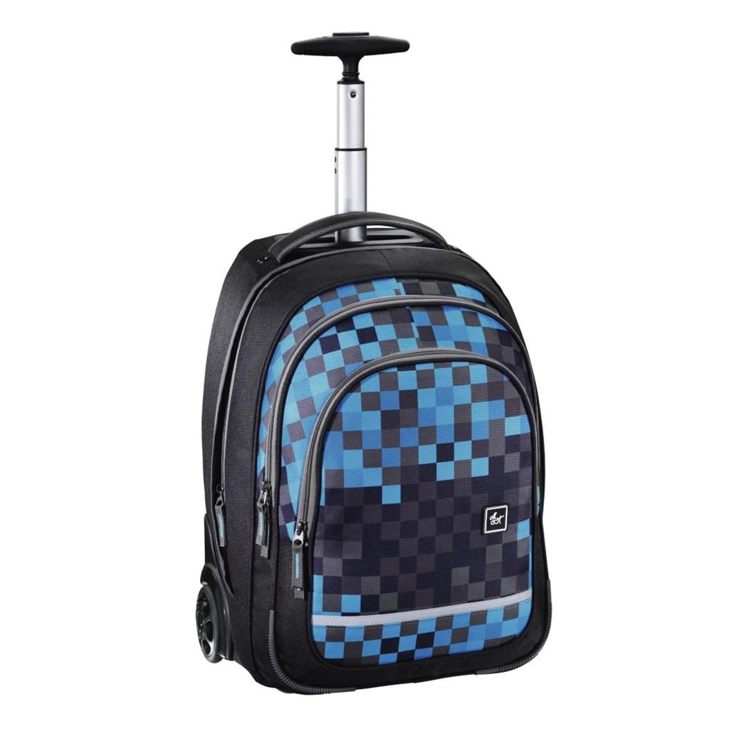 """Bolton"" Trolley, Blue Pixel"