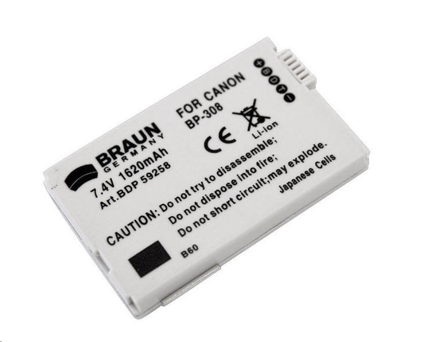 Doerr Akumulátor BDP-CBP308, 17 (Canon BP-208/308)