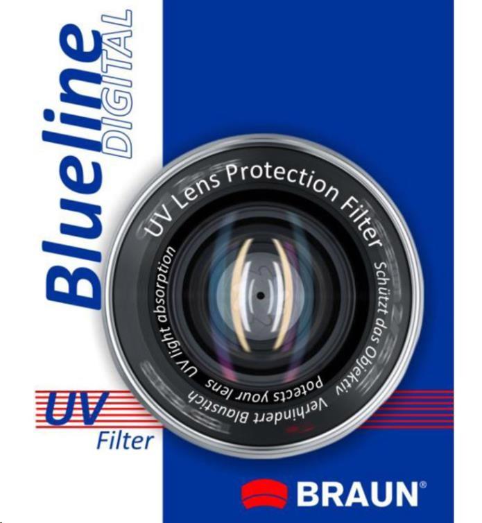 Braun filtr UV BlueLine 62 mm