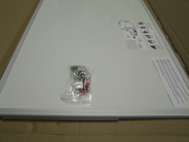 Magnetická tabule Ceramic, keramický povrch, ALU rám, 90x60cm - malá rýha