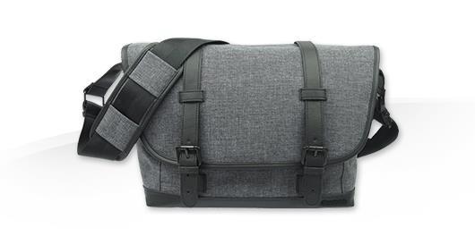 Canon MS10 Messenger Bag - textilní brašna - šedá