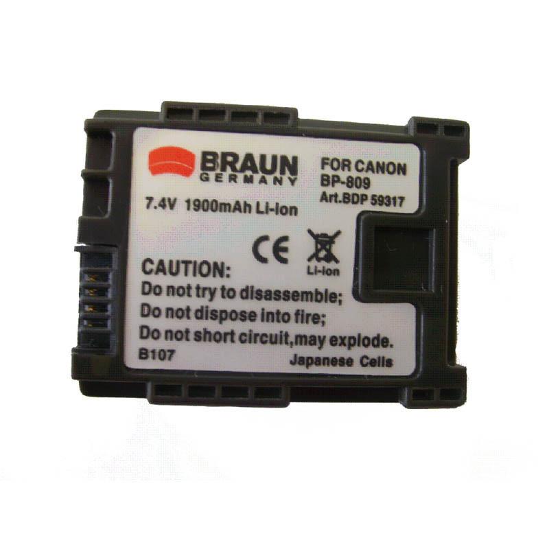 Doerr Akumulátor DDP-CBP819 (24, CANON BP-819 - 7,4 V/1200 mAh)