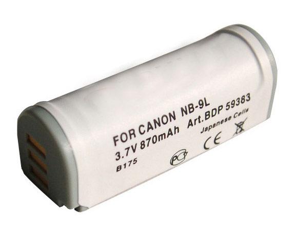 Doerr Akumulátor DDP-CNB9L (D129, CANON NB-9L - 3,7 V/870 mAh pro Ixus 1000 HS)