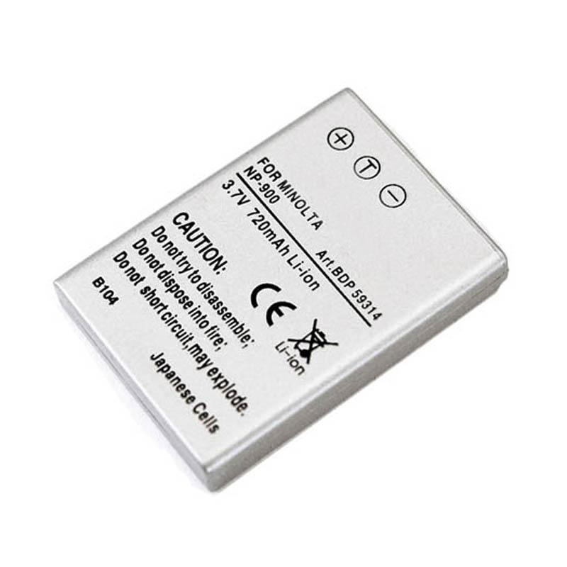 Doerr Akumulátor DDP-MNP900 (D40, Minolta NP-900 - 3,7 V/650 mAh pro E40,50,55)