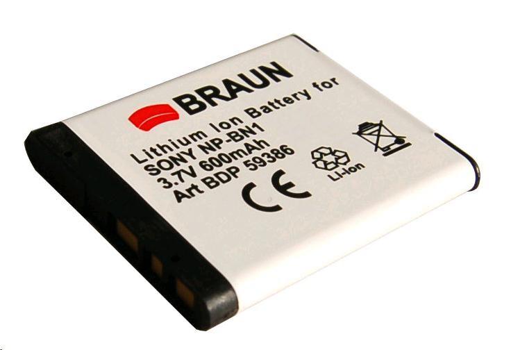 Doerr Akumulátor BDP-SBN1 (D115, SONY N NP-BN1 - 3,7 V/600 mAh)