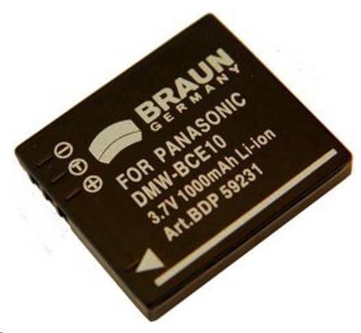 Braun Akumulátor BCE10 (Pan.BCE10/S008 - 3,7 V/1000 mAh)